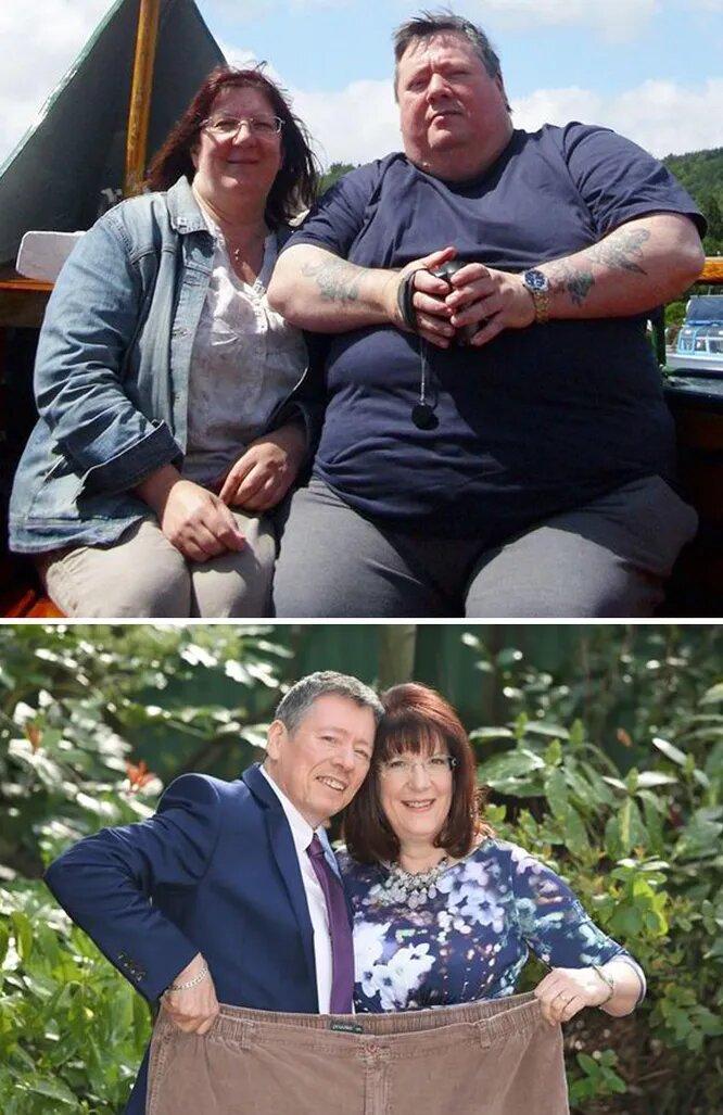 Минус 253 кг: Пары, которые вместе похудели ради сохранения своей любви