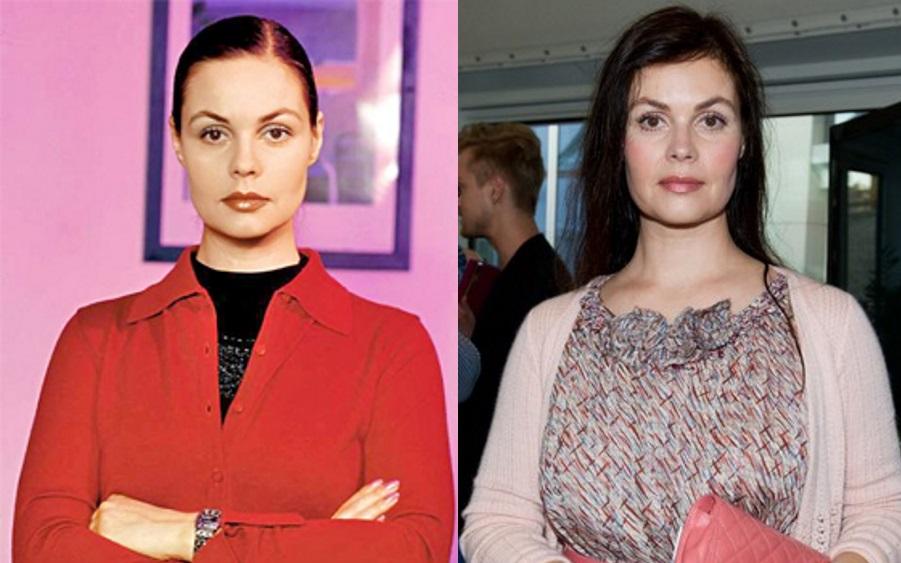 Была ли пластика: сравним снимки Екатерины Андреевой в молодости и сейчас