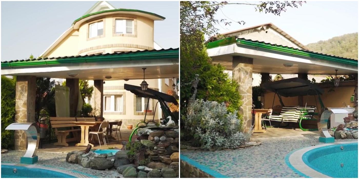 Михаил Галустян показал, как выглядит его загородный дом в Сочи на берегу моря